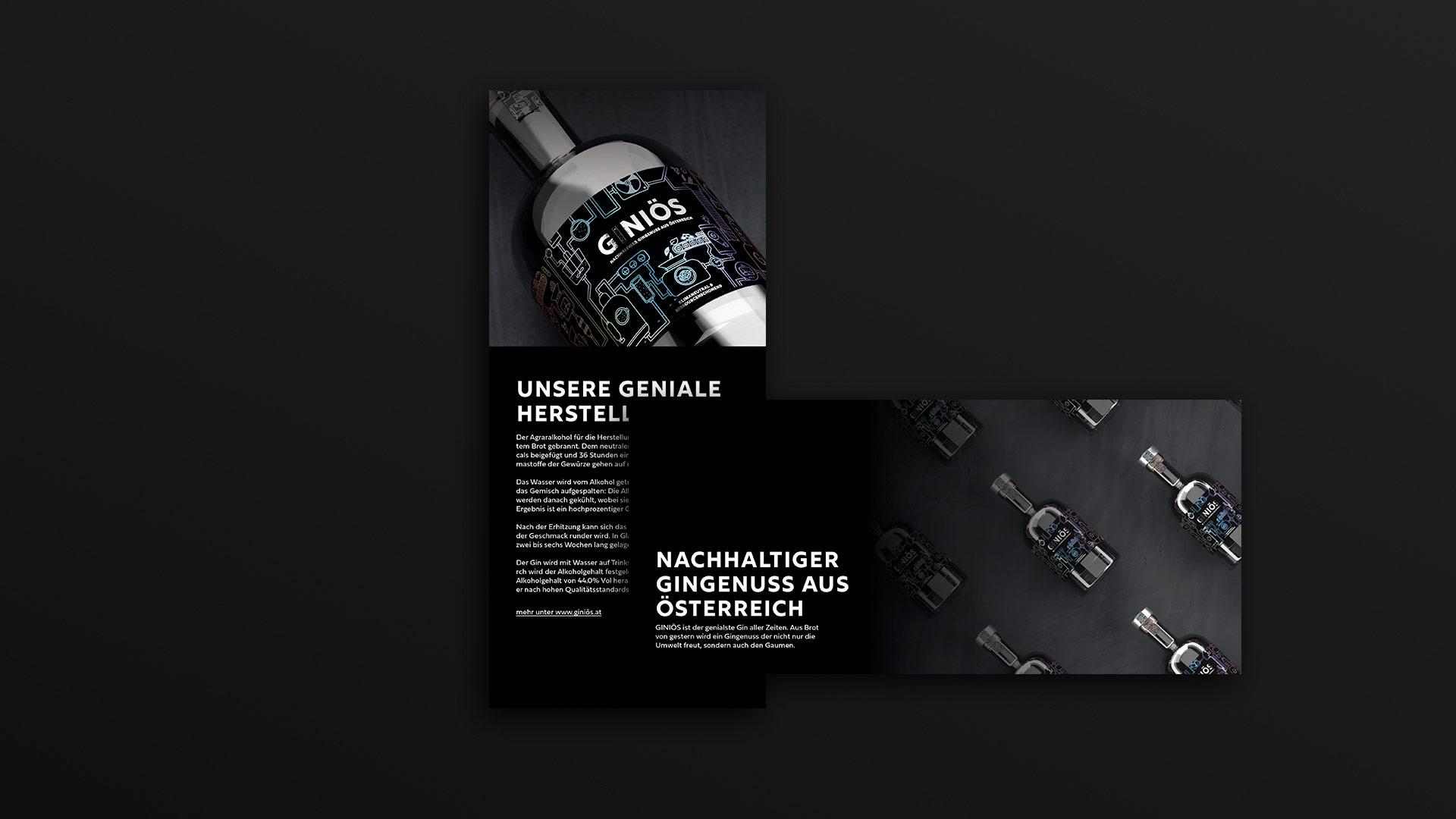 Giniös-Broschuere